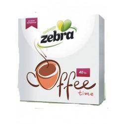 ΧΑΡΤΟΠΕΤΣΕΤΕΣ ZEBRA COFFE TIME 28X28 1ΦΥΛΛΕΣ 40 ΤΕΜΑΧΙΑ